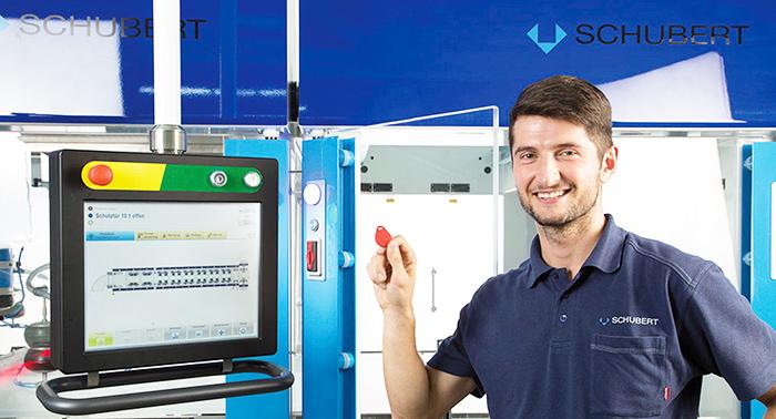 Verpackungsmaschinenhersteller Gerhard Schubert GmbH