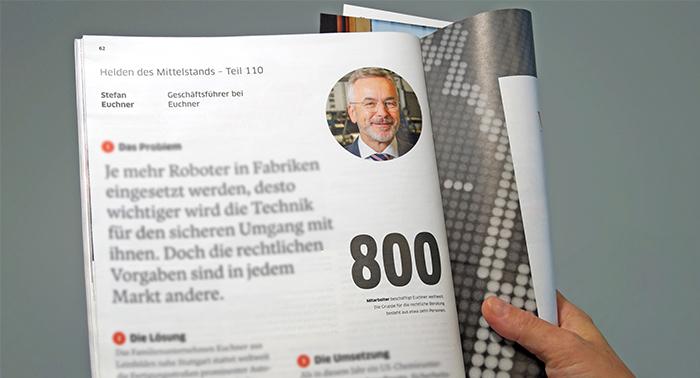 """EUCHNER ist """"Held des Mittelstands"""""""