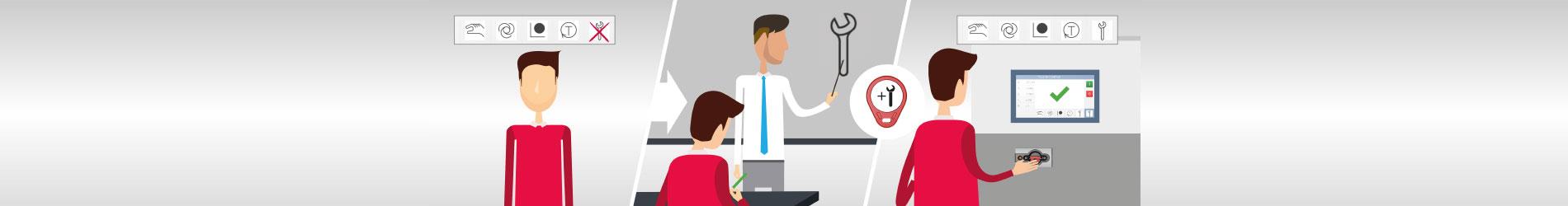 Incrementar la seguridad en el puesto de trabajo y reducir los tiempos de parada